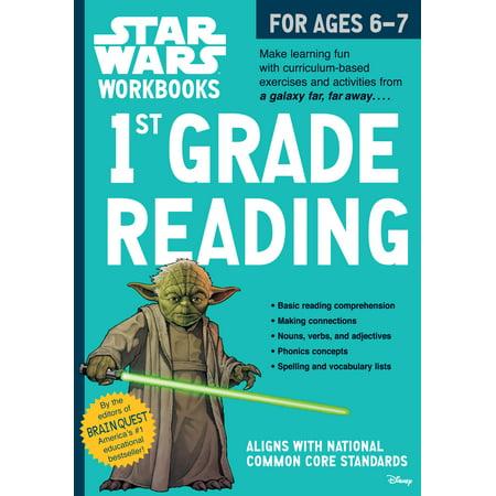 Star Wars Workbook: 1st Grade Reading