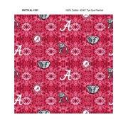 University of Alabama Tye Dye Flannel Fabric-Sold by the Yard