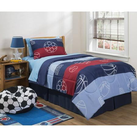 Mainstays Kids Sport Comforter Walmart Com