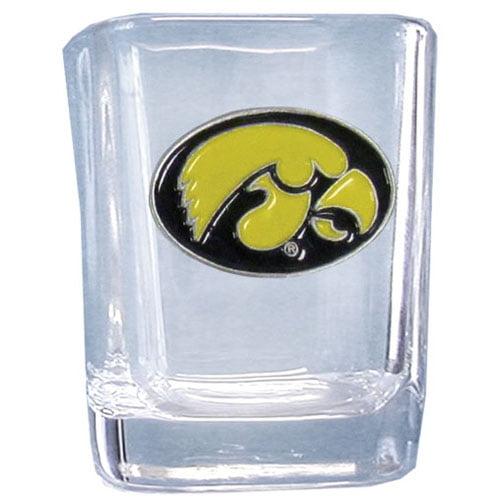 Iowa Hawkeyes Square Shot Glass (F)