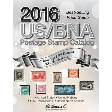 2016 Us/Bna Postage Stamp Catalog