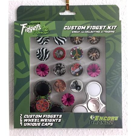 Savage Fidget Spinner - Custom Face Fidget Kit - Face Spanner