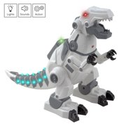 T-Rex Robot Walking Dinosaur with Lights and Sounds Interactive Play Kids Smart Robotic Pet
