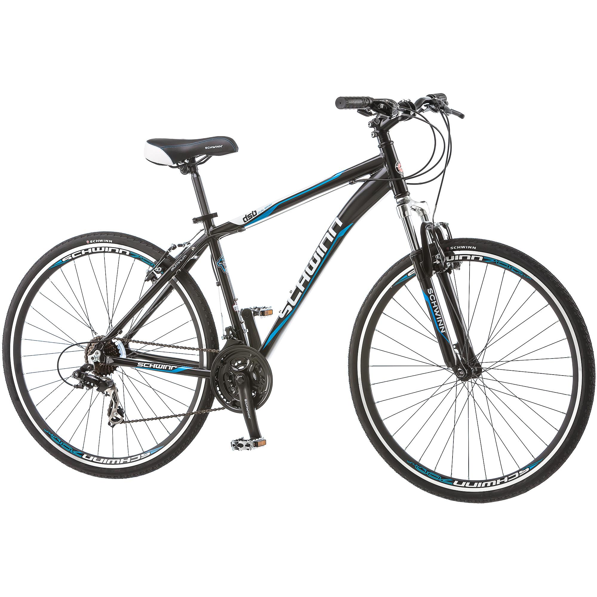 700c Schwinn Men's Hybrid DSB Dual Sport Bike