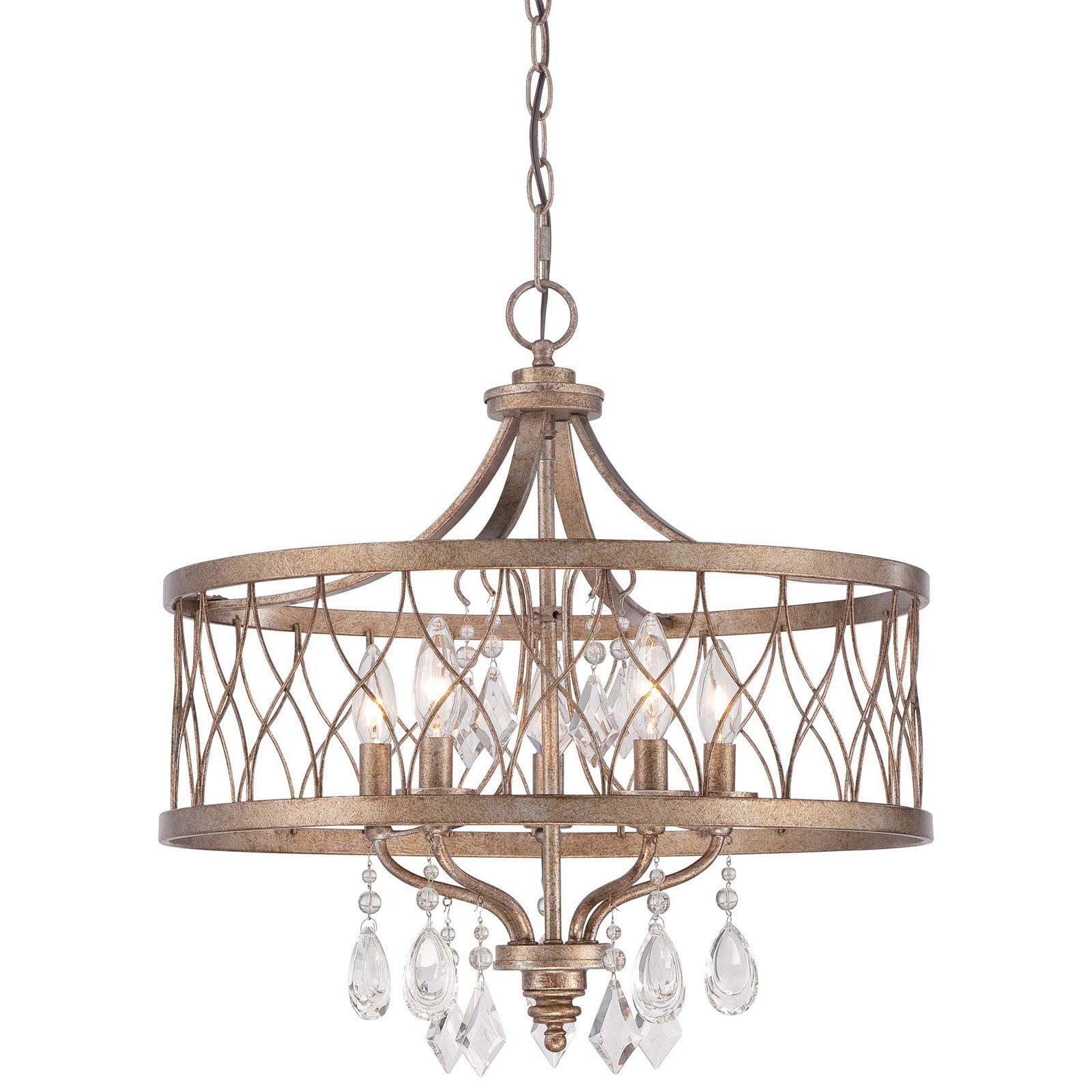 Minka Lavery West Liberty 5 Light Chandelier - Olympus Gold