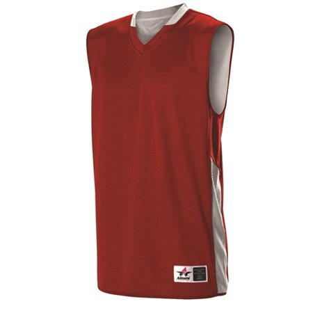 852160ff99a Alleson Ultra Light Reversible Youth Basketball Jersey - Walmart.com