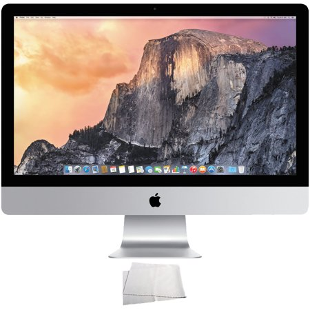 Apple 27  Imac With Retina 5K Display  Ff886ll A    Microfiber Cleaning Cloth  Certified Refurbished