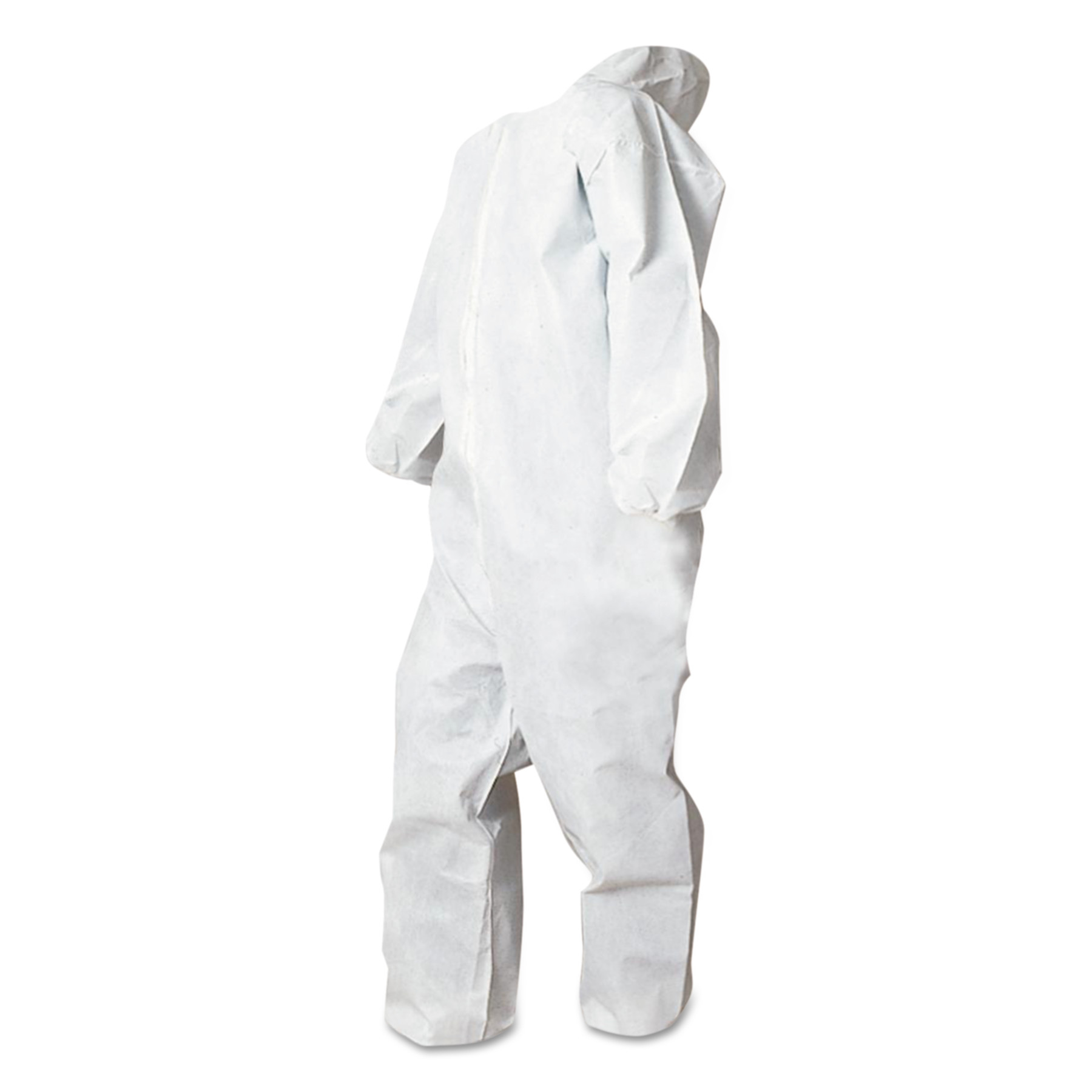 Boardwalk Disposable Coveralls, White, XXL, Polypropylene, 25 Carton by BOARDWALK