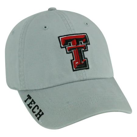 Texas Tech Light Grey Washed