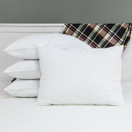 SwissLux  Allergy Free Anti-microbial Pillows with Ultra Fresh (Set of 4) -