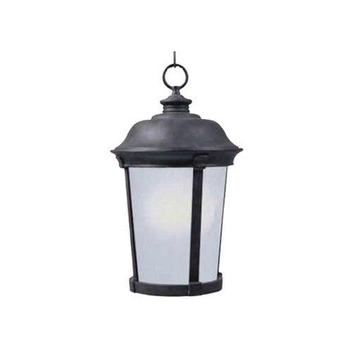 Wistaria Lighting Dover Outdoor Hanging Lantern in Bronze - Energy Star