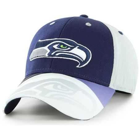 Men's Fan Favorite Navy/Gray Seattle Seahawks Squib Kick Adjustable Hat - OSFA](Seattle Seahawks Costume)
