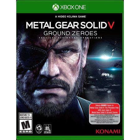 (Xbox One) Metal Gear Solid V: Ground Zeroes (Action Game)