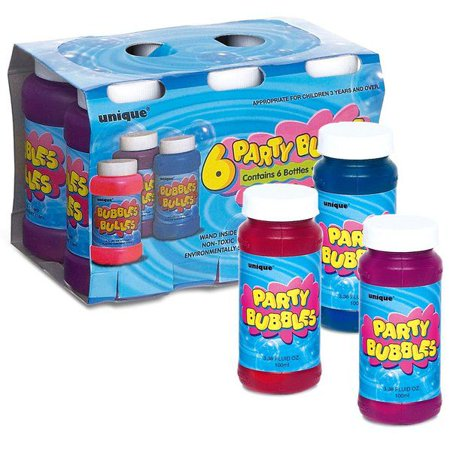 PARTY BUBBLES FAVOR PACK (6-PACK)](Bubble Party Favors)