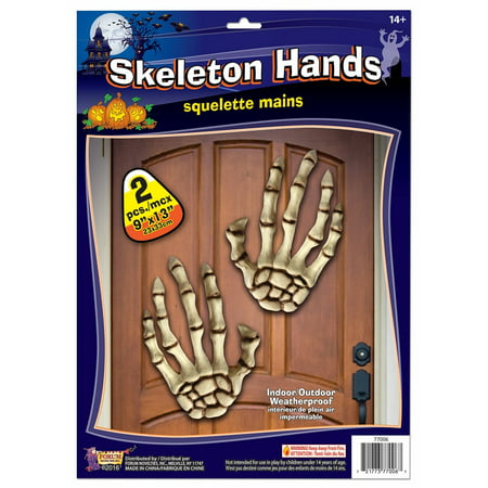 Bone Lor Skeleton Hands Dcor Skeleton Halloween Party Decorations 13'' - 100 Floors Halloween 13