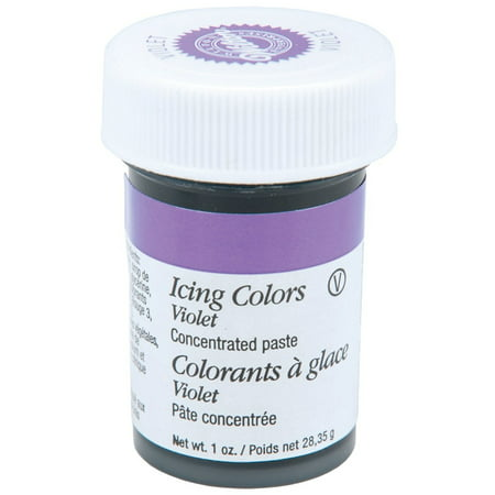 (5 Pack) Wilton Icing Color, Violet, 1oz (Wilton Icing Color)