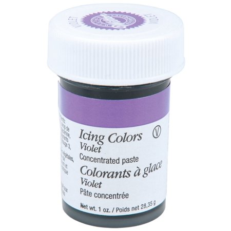 (5 Pack) Wilton Icing Color, Violet, 1oz - Wilton Food Coloring