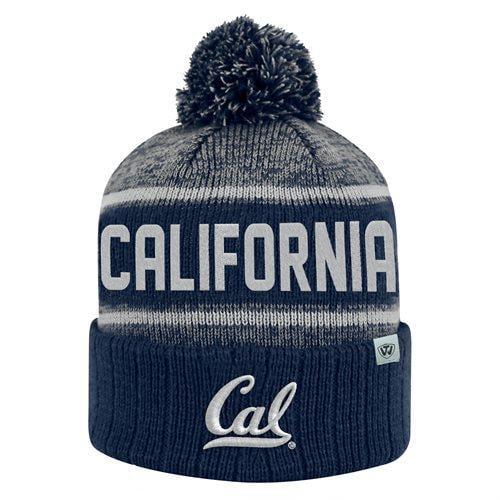 University Of California Berkeley Cuffed Pom Beanie