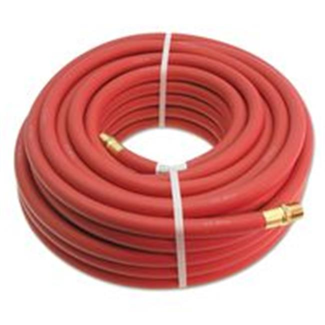 Continental Contitech 713-20156443  0.38 in. x 25 ft. Coupled Air Hose With 0.25 Npt Fittings