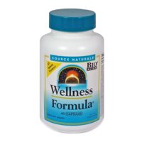 Source Naturals Wellness Formula Capsules, 60 Ct