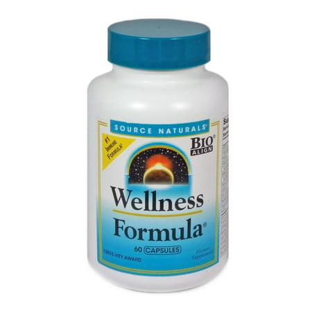 Source Naturals Wellness Formula Capsules, 60