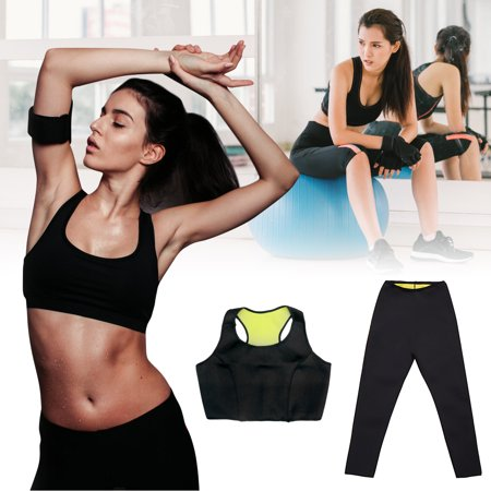 Laboratory Hot Plates Thermo (Grtxinshu Women Hot Sweat Slimming Fitness Workout Sports Vest / Pants Neoprene Sauna Thermo Body Shaper Trainer Gym Yoga S/ M/ L/ XL/ XXL / 3XL )