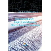 Industrial Effluents - Origin, Characteristics, Effects, Analysis & Treatment
