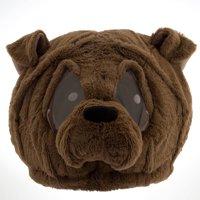 Bulldog Maskimal: Adorable Large Plush Head Mask Accessory
