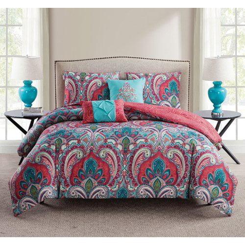 Bungalow Rose Kohlmeier 5 Piece Reversible Comforter Set