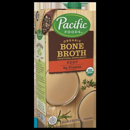 Pacific Foods Organic Beef Bone Broth, 32 fl oz ()