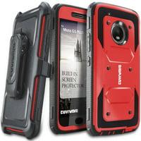 Product Image Moto G5 Plus Case, COVRWARE [Aegis Series] w/ Built-in [