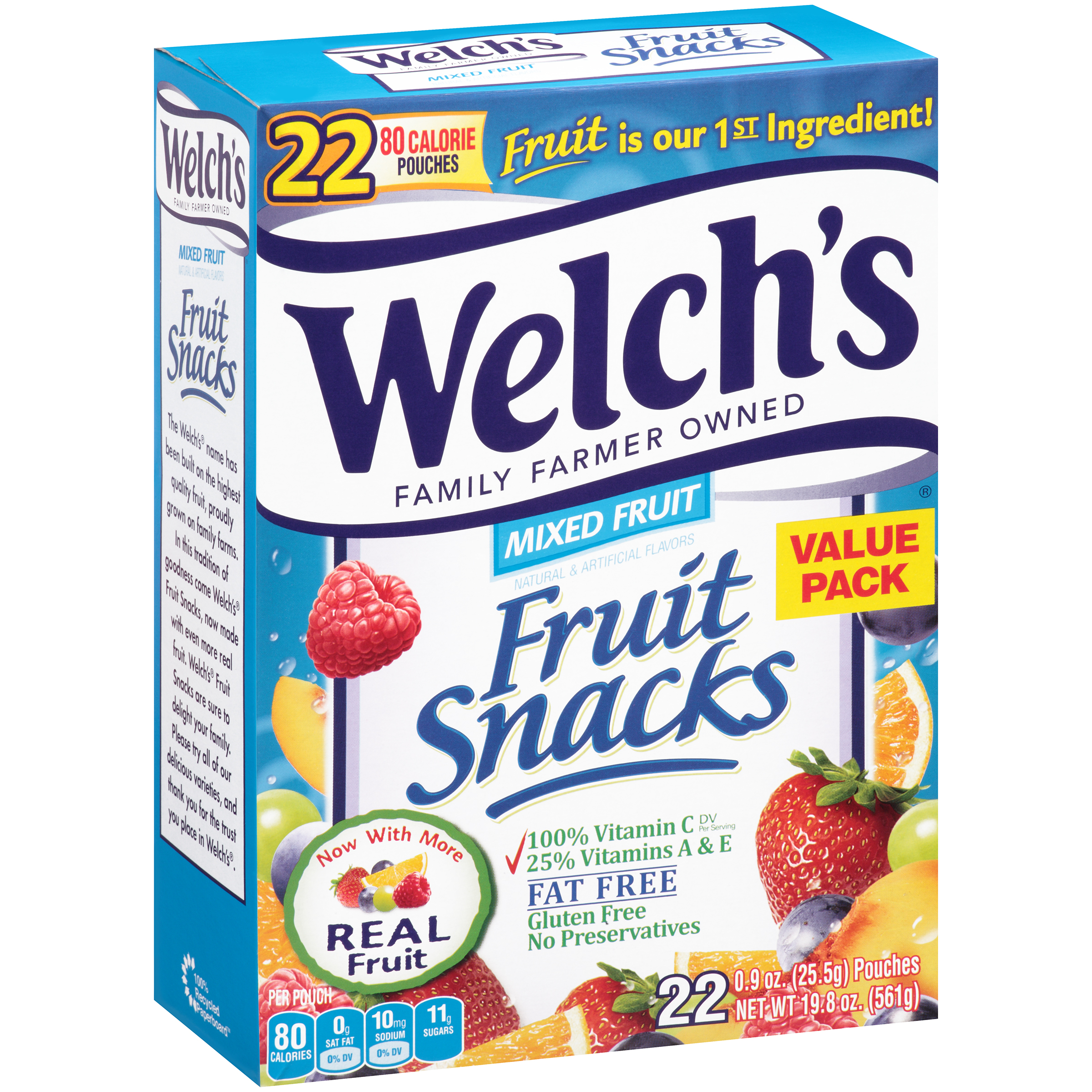 welch 39 s mixed fruit fruit snacks 22 0 9 oz box 034856226987 ebay. Black Bedroom Furniture Sets. Home Design Ideas