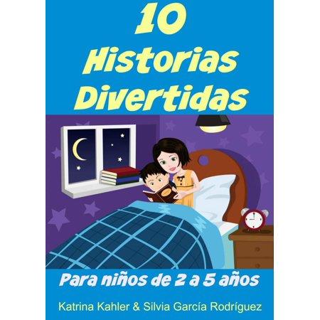 10 Historias Divertidas para niños de 2 a 5 años - eBook (Historias De Miedo Para Halloween)