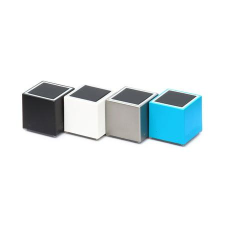 Clambo RheinSound Portable Bluetooth Mini Speaker, Wireless Small Cube Design - Blue/Gift