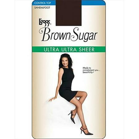 L'eggs Brown Sugar Ultra Sheer Control Top Pantyhose, 1-Pack