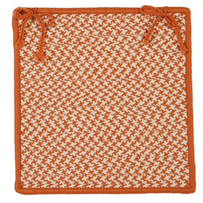 Outdoor Houndstooth Tweed - Chair Pad (single)
