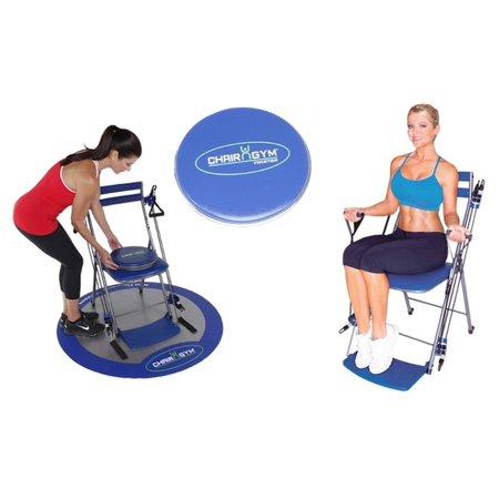 chair gym with bonus twister seat as seen on tv walmartcom