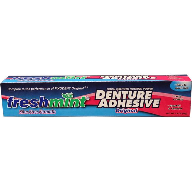 DDI 1218519 Freshmint Denture Adhesive 2.4 oz Case of 72