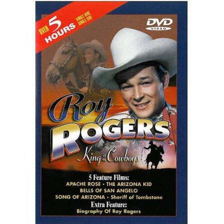 Roy Rogers: King Of The Cowboys - Apache Rose / The Arizona Kid / Bells Of San Angelo / Song Of Arizona / Sheriff Of Tombstone ()