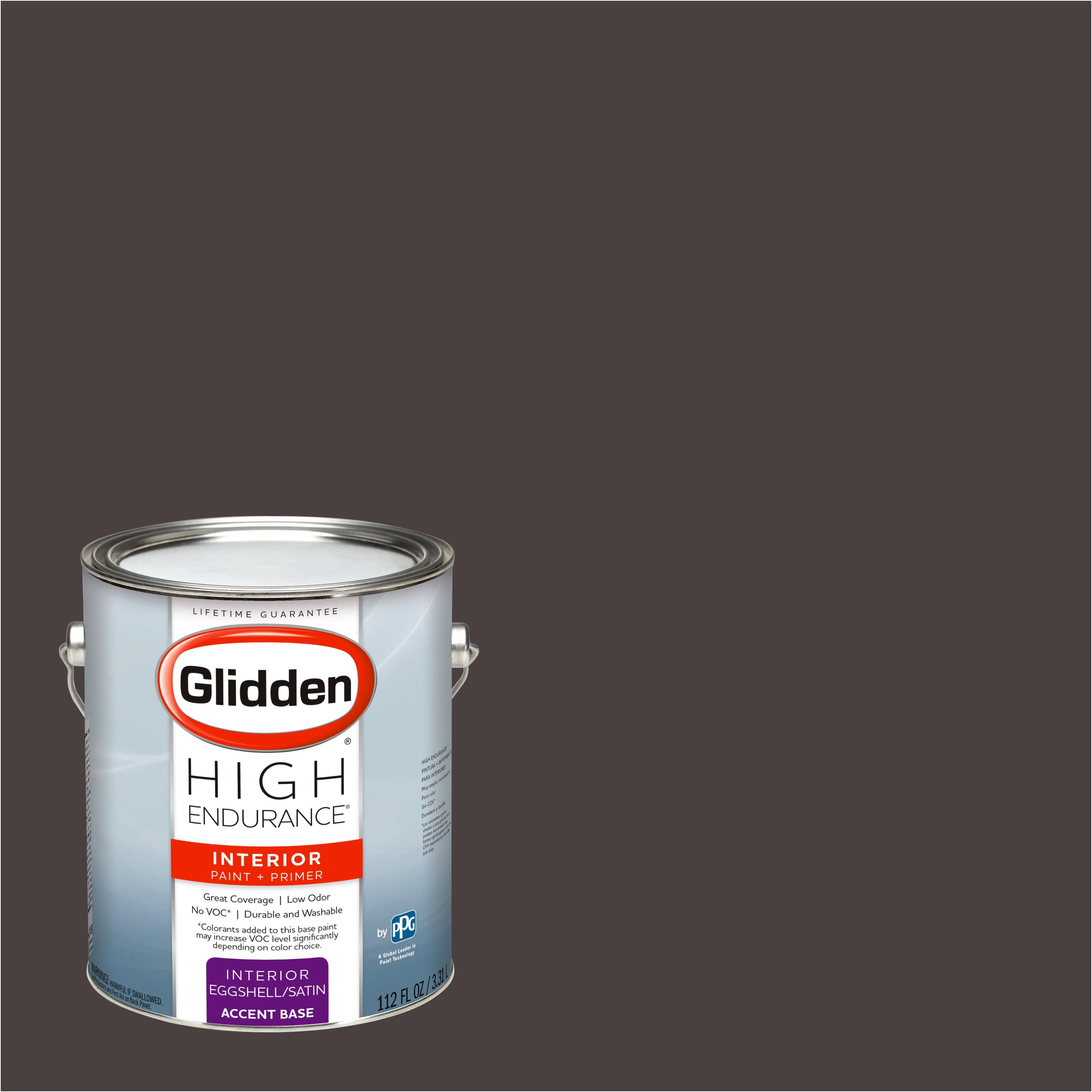 Glidden High Endurance, Interior Paint and Primer, Western Charcoal, #50YR 06/041