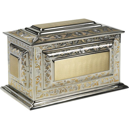 Star Legacy's Renaissance Large/Adult Cremation Urn for Human Ashes with Velvet Case
