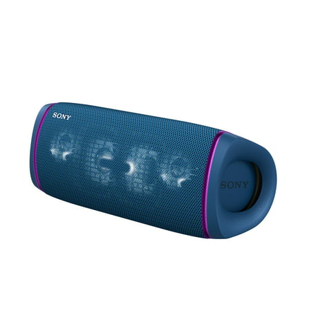Sony SRSXB43 EXTRA BASS Wireless Portable BLUETOOTH IP67 Waterproof Speaker – Blue