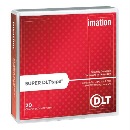 Imation - Super DLT - gray - cleaning cartridge - for P/N: 16260, 16988