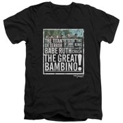 Sandlot The Great Bambino Mens V-Neck Shirt