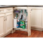 """Rev-A-Shelf 434-Bf-6Ss 434 Series 6"""" Base Filler Pull Out Organizer - Natural Wood"""