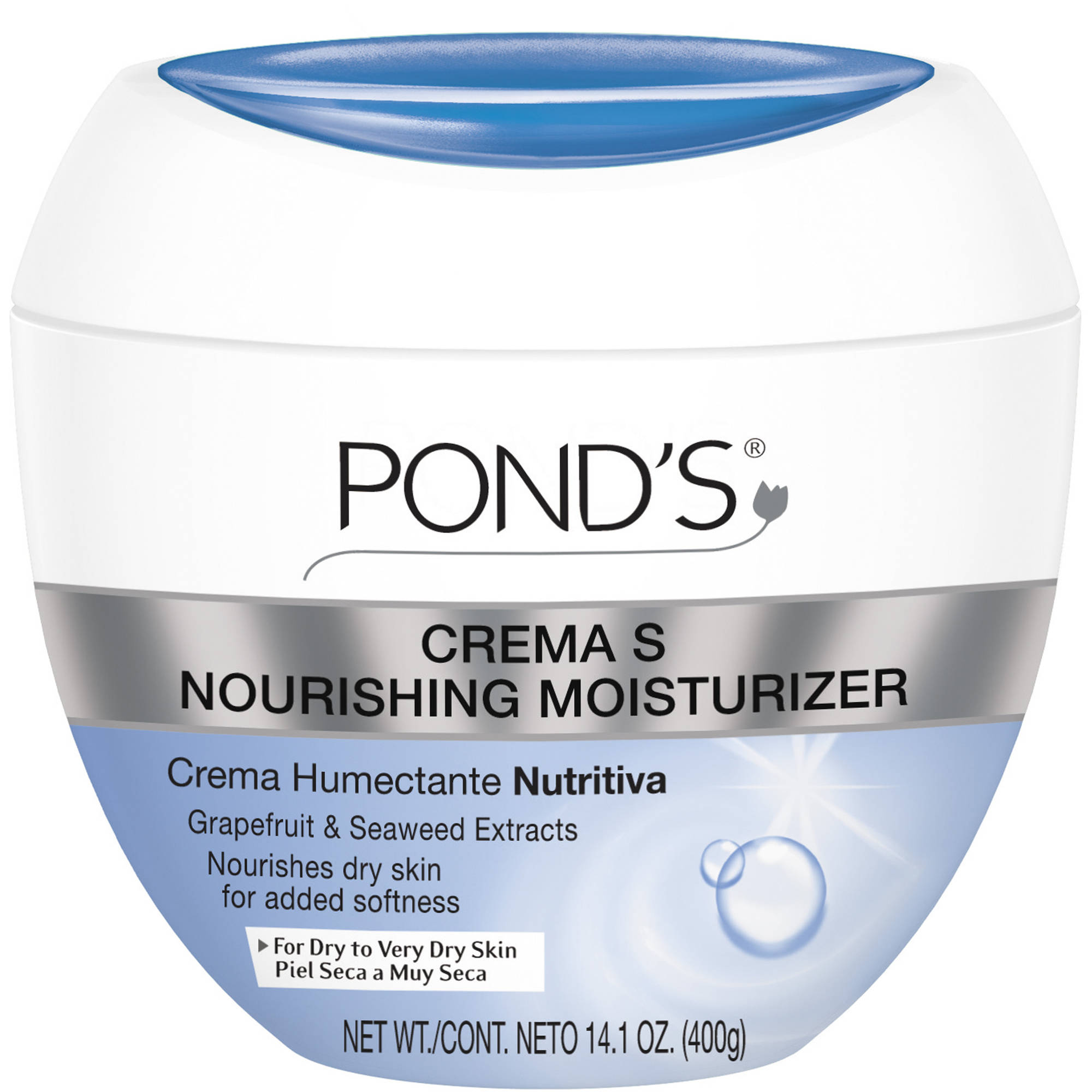 Pond's Crema S Nourishing Moisturizing Cream, 14.1 oz