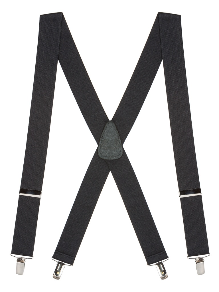 Suspender Store Solid Color CLIP Suspenders - 1.5-Inch Wide (4 sizes, 18 colors)