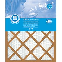 True Blue 216301 Air Filter, 30 in L, 16 in W, 7 MERV, Synthetic Pleated Filter Media 12 Pack