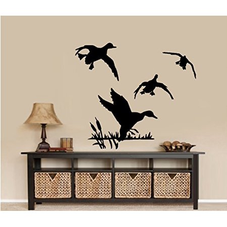 Ducks Flying #3 ~ WALL DECAL, HOME DECOR 20