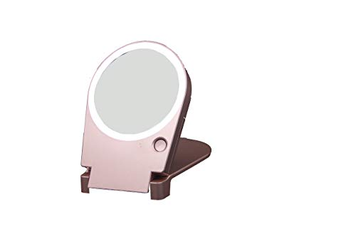 Floxite 10x Lighted Travel Home, Floxite 10x Lighted Travel And Home Mirror